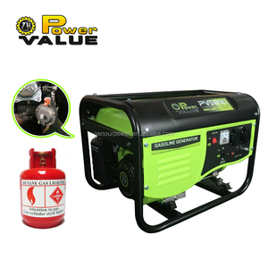 Power Value (CHINA) factory discount 1000w~5000w Electric lpg Generator, Gas Series Generator