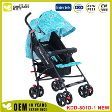New design Shopping Mall Baby Stroller Softtextile Stroller Baby
