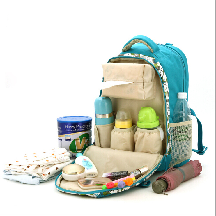 Backpack 2015 new Waterproof Mummy Backpack Mummy storge shoulder nappy bag baby Pregnant diaper bags Mummy Messenge bags