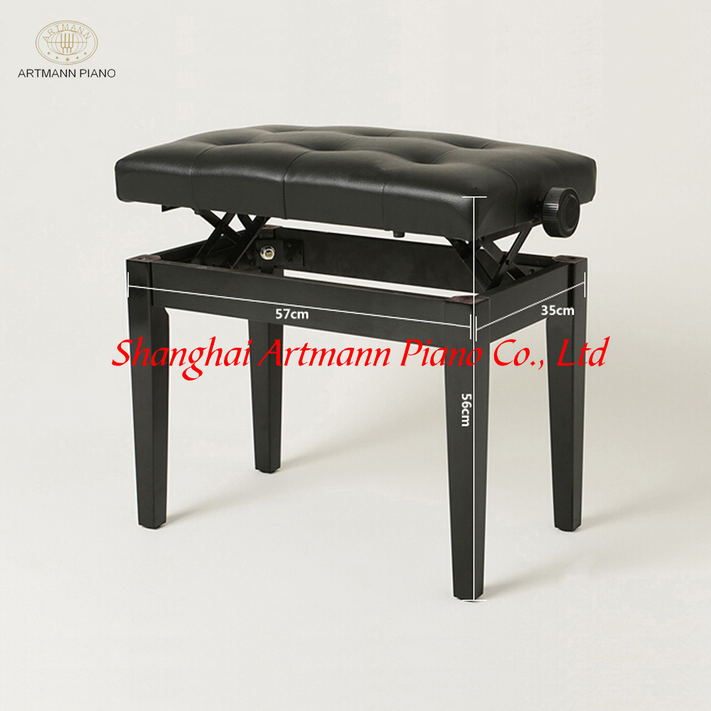 shanghai artmann r glable banc de piano pour upright piano et piano autres instruments de. Black Bedroom Furniture Sets. Home Design Ideas
