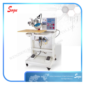 Xm0050 Double Head Ultrasonic Hot-fix Setting Machine