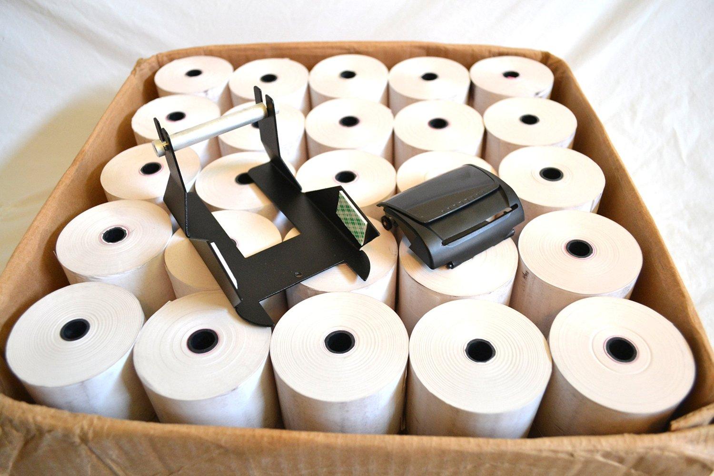Ingenico Thermal Paper Adapter ICT220, ICT250 plus 50 - 230' paper rolls!