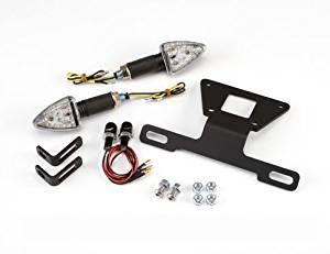 Kawasaki Ninja 300 fender eliminator Kit 2013-2016 complete with LED turn signals and plate lights
