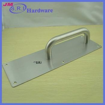 304 Stainless Steel Pull Door Handles Push Plate - Buy Pull Door ...