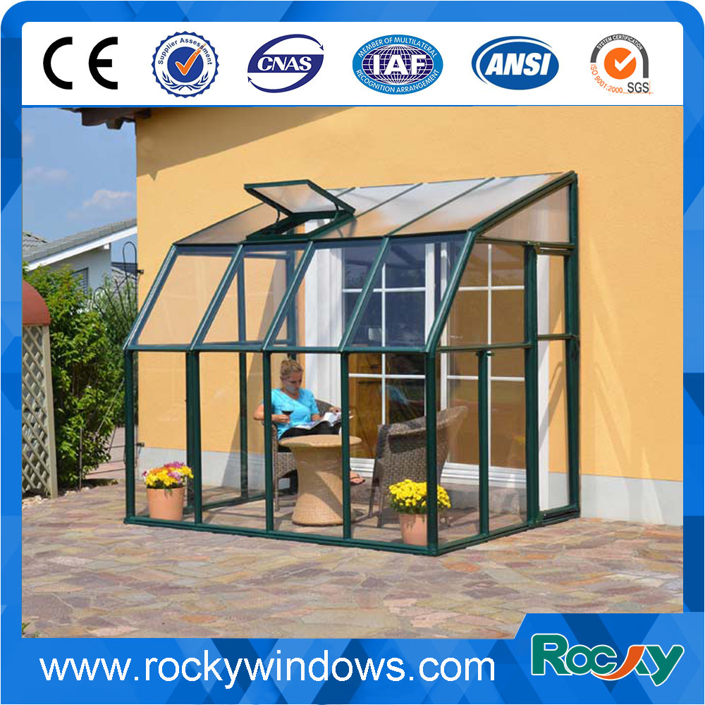 منحنى الزجاج الشمس غرف/سونرووم الزجاج/سونرووم الألومنيوم البثق