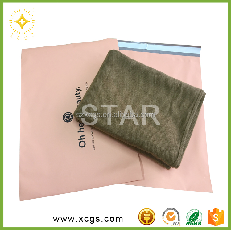 Plastic Material and Accept Custom Order poly bag from customized size