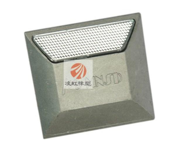 Литого алюминия светоотражающие спайк односторонний дорожные знаки замедления полный объектов
