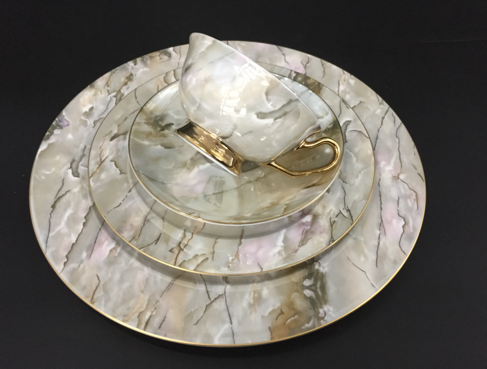 china marble tableware