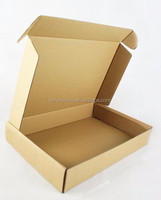 design Plain kraft paper cartons corrugated box packaging box
