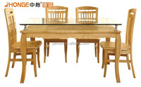 C5103 zhonge latest oak dinning furniture dinning table
