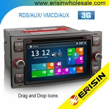 "Erisin ES7166F 7 ""Auto Đài Car GPS <span class=keywords><strong>DVD</strong></span> CD Bluetooth cho Galaxy"
