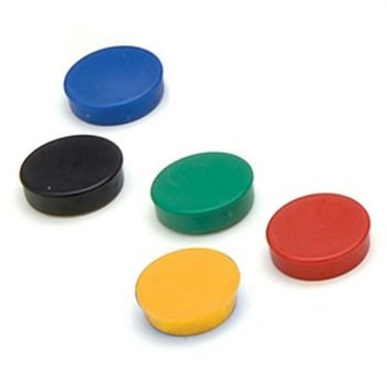 Planning Magnet Plastic Coated Magnet Round Magnetic