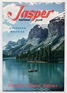 Canadian National Railways JASPER National Park 1955 Booklet Rockies
