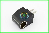 New 220V AC to 12V DC Car Cigarette Lighter Socket Charger Adapter US Plug 6W max