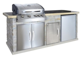 American Kitchen Design Bbq Grill Built In Kitchen Range With Grill