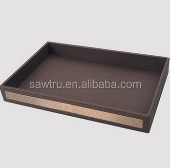 2017 Top Quality Pu Serving Tray