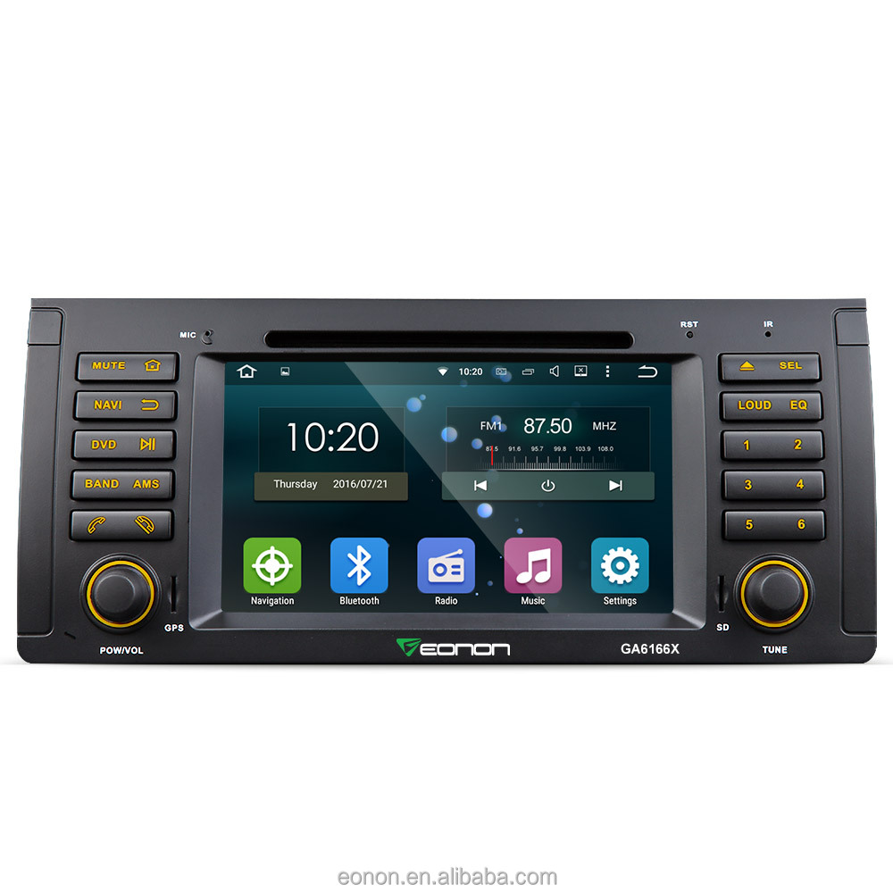 EONON GA6166X for BMW E53 Android 5.1.1 Lollipop 7 inch Multimedia Car DVD GPS with Mutual Control EasyConnection