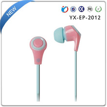 Premium Sound promotion earphone cheap earbuds for mp3 with logo
