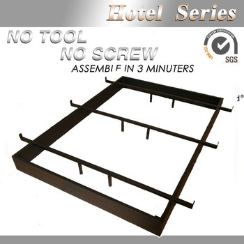 queenking size adustable steel hotel bed frame - Hotel Bed Frames
