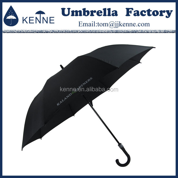 Chinese export high quality handle rubber coated 30 inche customized color golf umbrella