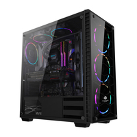 Tempered Glass Customized Fancy Computer Gaming Cases