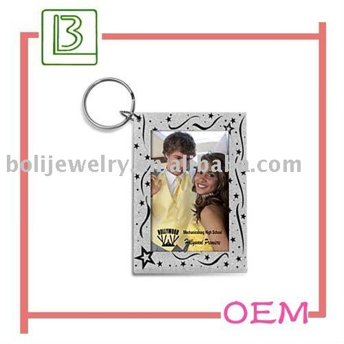 Couple photo frame keyholder