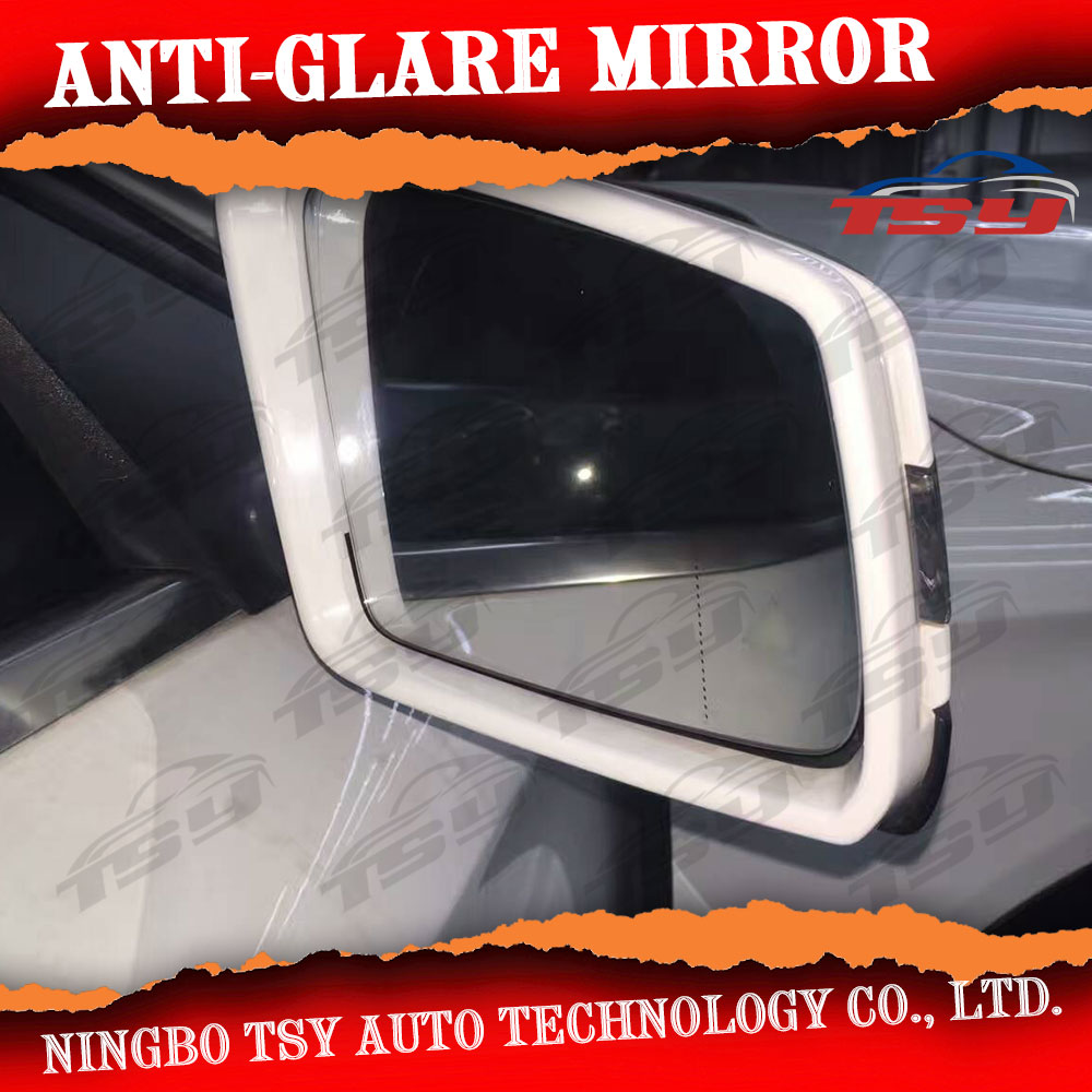 Rearview Chrome Mirror Adjust Switch Folding Knob For Audi Q3 2012-2016 RSQ3