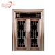 Luxury design different color egypt Grill Entrance Stainless Steel Residential Door