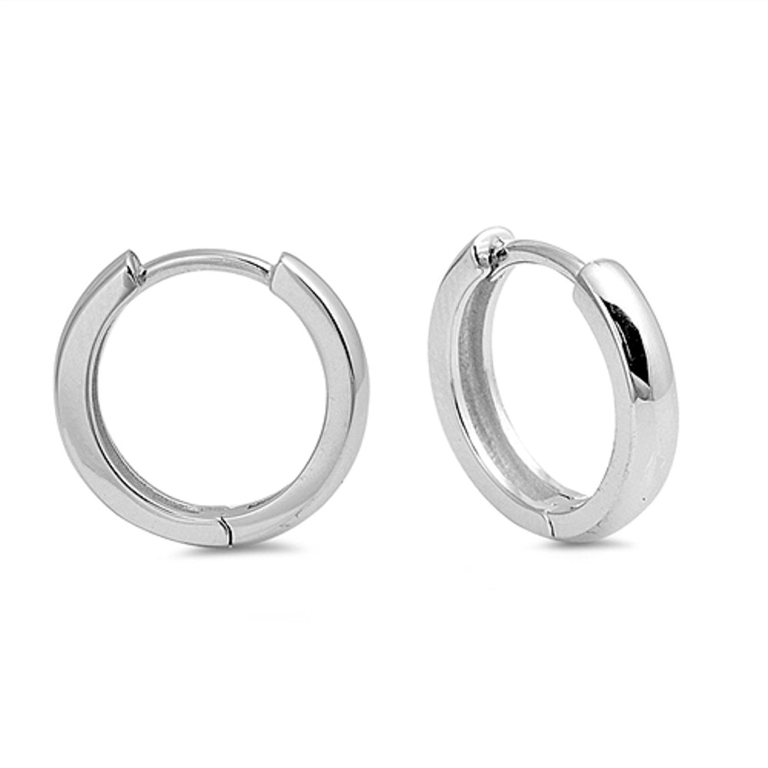 Micro Pav? Liara Polished And Nickel Free Setting Oval Ear Studs With Cubic Zirconia Sterling Silver 925