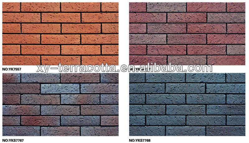 Foshan Rough Surface Outdoor Brick Wall