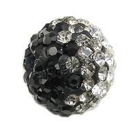 rhinestone austrian crystal pave beads