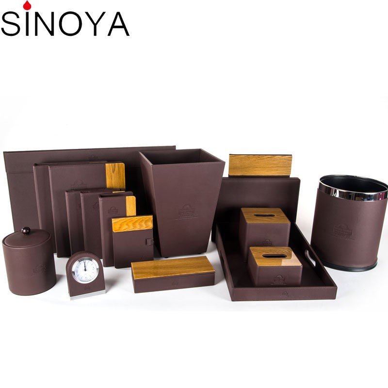 Luxury 5 Stars Leather Sets Western Hotel supply