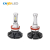 Lumileds ZES 25w 5000 lumen h11 light bulbs , high intensity 7s led headlight h11 replace h11 car halogen lamp