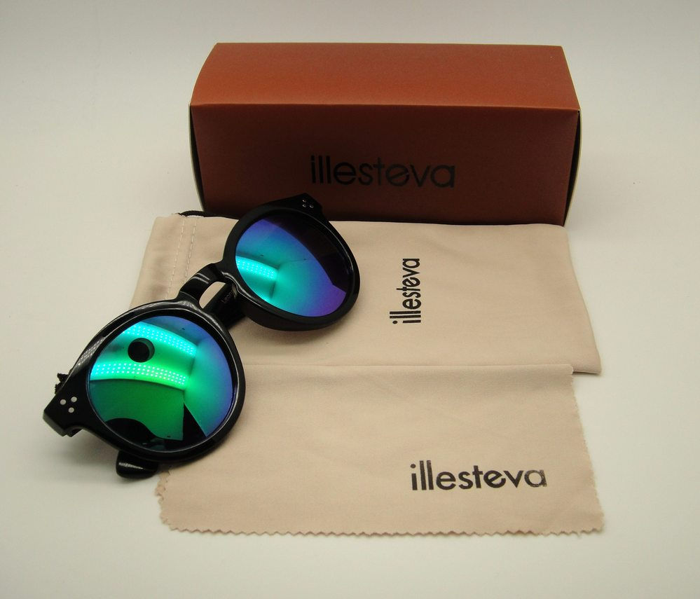 fe989a9a1bf Wholesale WG With Case New Illesteva Sunglasses Illesteva Gafas Oculos  Brazil Illesteva Sunglasses Women Brand Designer Oculos Sunglasses Round  Glasses ...