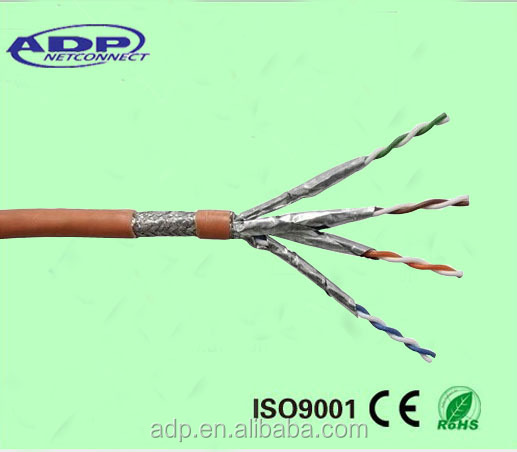 High quality frequency 600 MHz SSTP CAT 7/cat7a lan cable