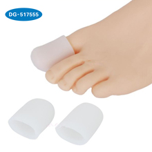 HOT 1 Pair Silicone Gel Toe Ống cho Big Toe Ngô <span class=keywords><strong>Vỉ</strong></span> Bìa Protector separators