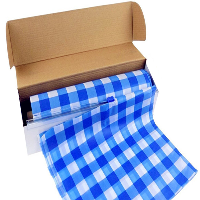 Blue Gingham Tablecloth, Blue Gingham Tablecloth Suppliers And  Manufacturers At Alibaba.com