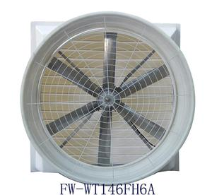 35000 m3/h garment factory hood-style exhaust fan