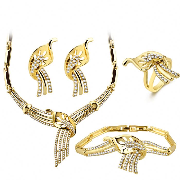 Custom Fashion African Gold Plated Jewelry Sets Wholesale - Buy ... c5493ae99