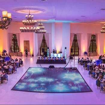 Super Fast Install LED Wireless Magnet Starlit Digital Dance Floor For Wedding Party Rent Event