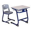 Study dedicated school furniture student desk and chairs