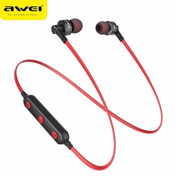 bcbcff5ccfa AWEI B990BL Brand Wireless Bluetooth Earphone Sports Headphones Handsfree  Headsets Waterproof Audiophones Manufacturer