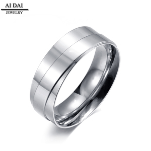 Minimalist style jewelry 316 stainless steel (eternal love) engagement rings