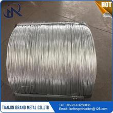 multifunctional hot dip galvanised low carbon high tension galvanized steel wire