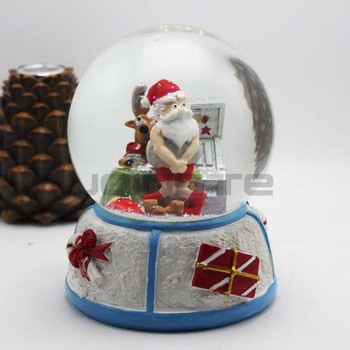 Christmas Snow Globes Australia.Australia Christmas Snow Globe Santa Clause Losing In Gambling House Buy Snow Globe Water Ball Glass Ball Product On Alibaba Com