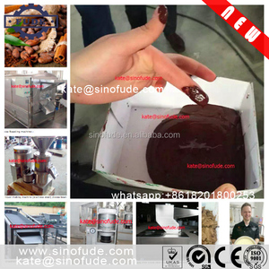 Cocoa powder production line / Chocolate making machine /semi-automatic Cocoa butter making machine
