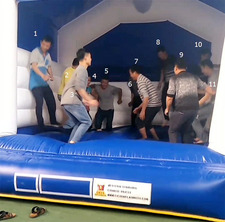 TOP inflatable soccer football field arena goal pitch event party rental juegos gonflable team game supply China