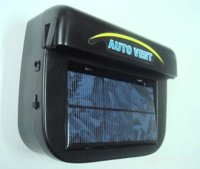 solar auto exhaustfan ventilator mit innere batterie auf. Black Bedroom Furniture Sets. Home Design Ideas
