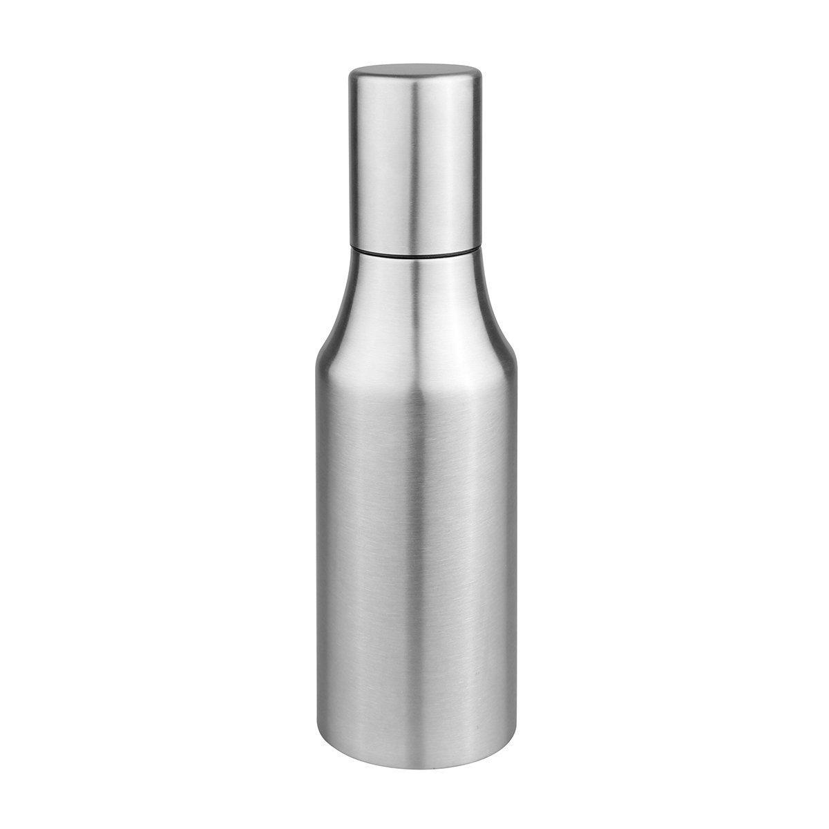 Powstro Olive Oil Dispenser Bottle Oil Pourer Dispensing Bottles Stainless Steel Olive Oil Dispenser Leakproof Kitchen Oil & Vinegar Cruet (750ml)
