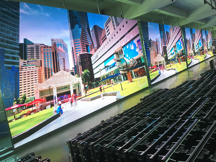 New High Quality Structure Popular Promotions New Images Hd P4.81 P5.95 Indoor Rental Led Display Screen